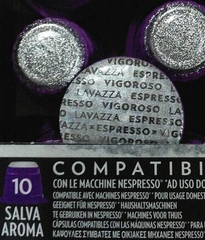 Espresso Vigoroso вид капсул