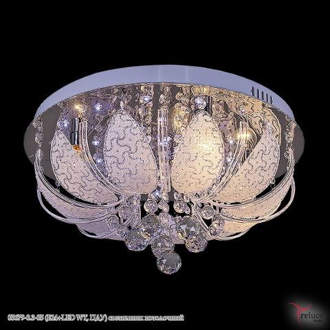 05679-0.3-05 (E14+LED WT, ПДУ) светильник потолочный