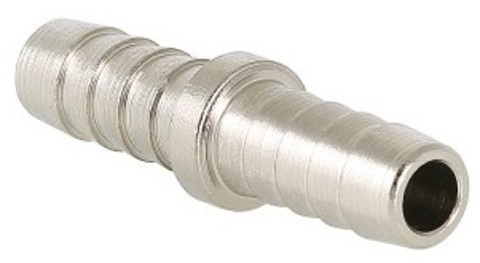 Valtec 20 мм соединитель для шланга латунный никелированный VTr.657.N.2020