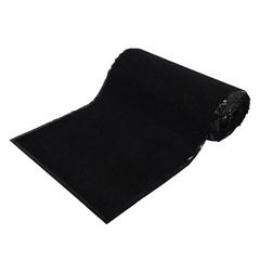 Коврик влаговпитывающий, ребристый, черный, 90*1500 см