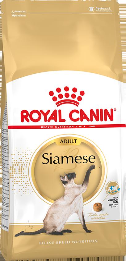 Сухой корм Корм для сиамских кошек, Royal Canin Siamese Adult, в возрасте от 1 года и старше siameseadult.png
