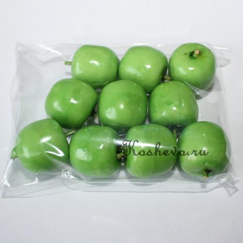 Яблоко зеленое с коротким хвостиком 10шт