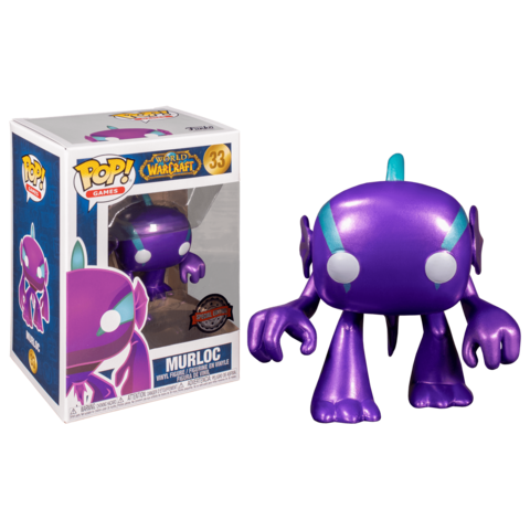 Фигурка Funko Pop! Pop! Games: World Of Warcraft - Murloc (Excl. to Blizzard Store)