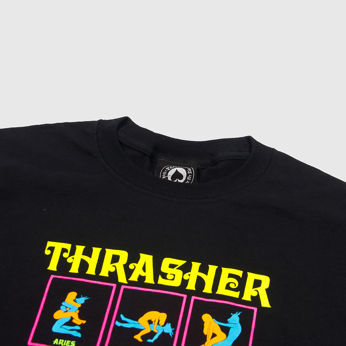 Футболка THRASHER Black Light (Black)