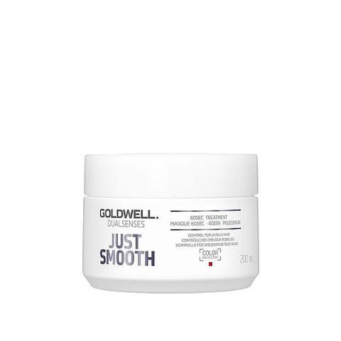 Уход-маска интенсивный для непослушных волос, Goldwell Dualsenses Just Smooth 60 Sec, 200 мл.