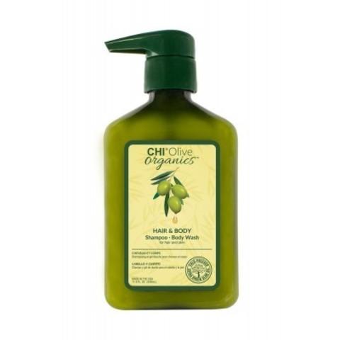 CHI Olive Organics: Шампунь для волос и тела (Shampoo/Body Wash for Hair and Skin), 340мл