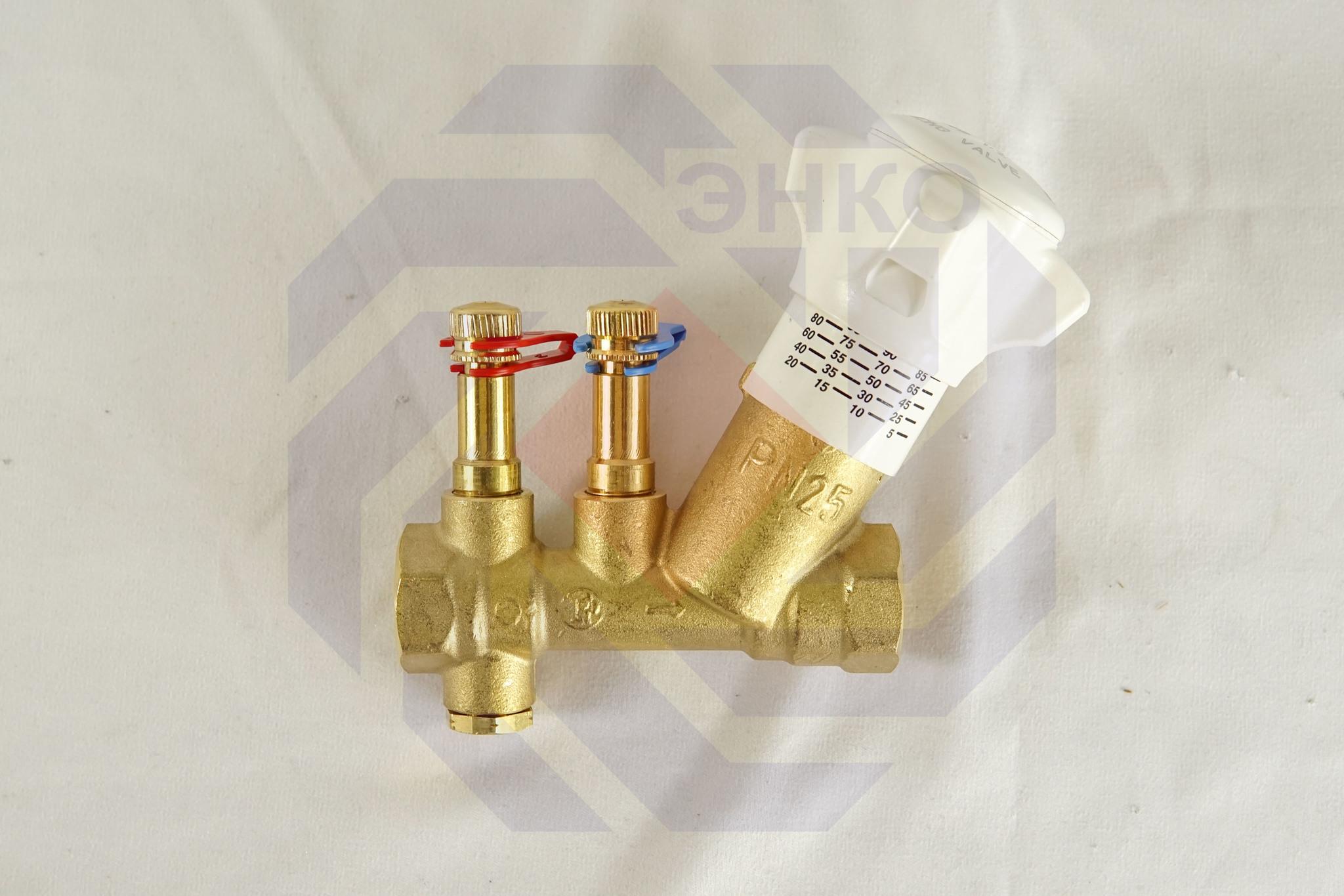 Клапан балансировочный GIACOMINI R206B DN 15