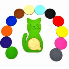 Вкладыши для малышей Кошки