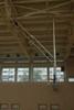 Ферма баскетбольная поднимающаяся к потолку с электроприводом (в комплекте: б/б щит, кольцо, сетка, лебедка, пульт)