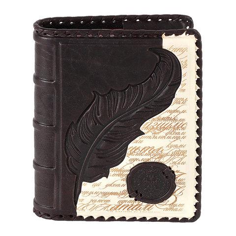 Ежедневник А6 «Царская печать». Цвет коричневый