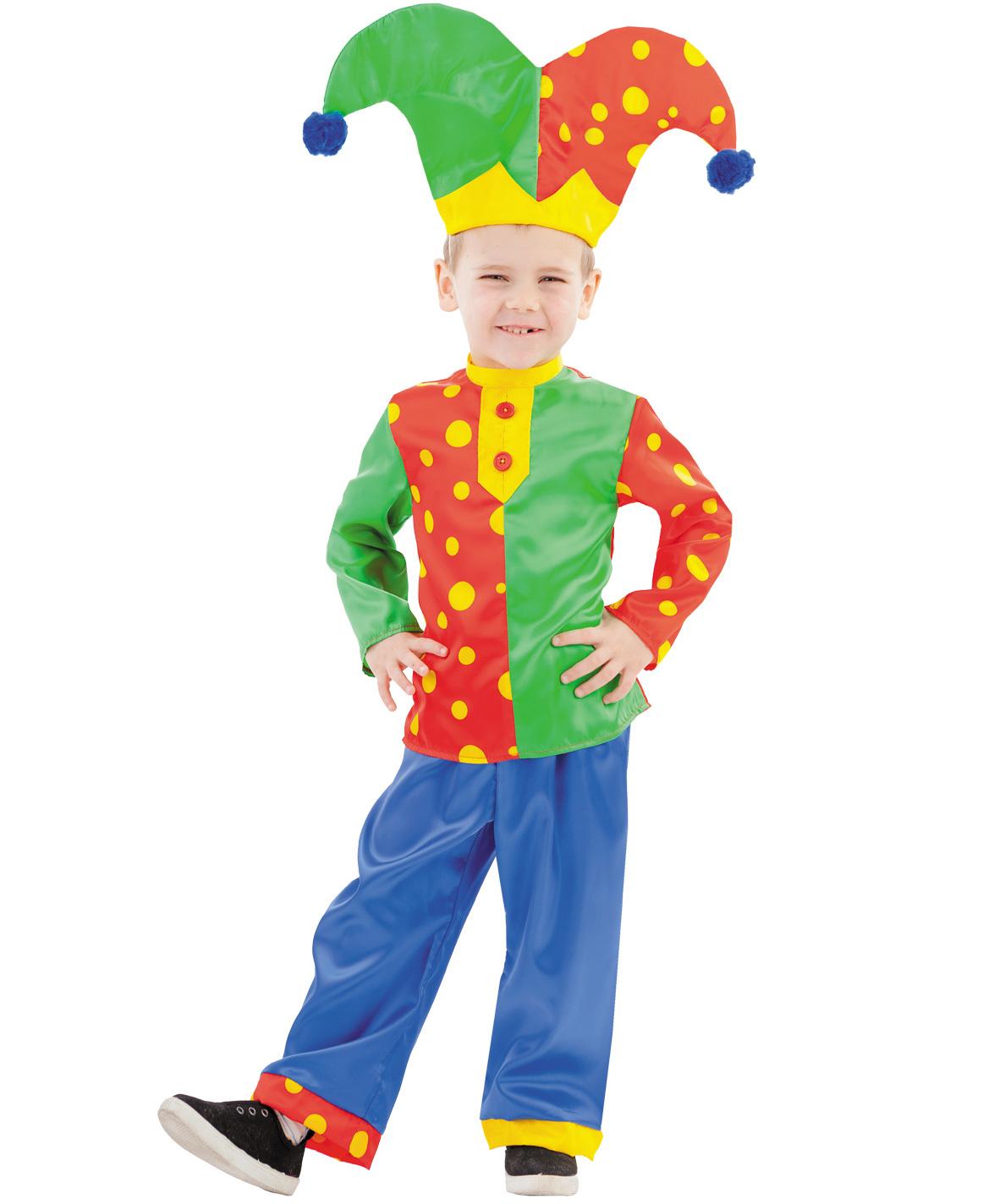 Карнавальный костюм детский Шут Гороховый