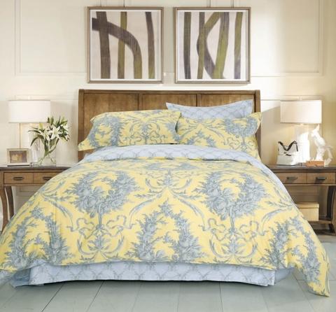 Сатиновое постельное бельё  2 спальное  В-189