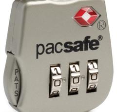 Кодовый багажный замок Pacsafe Prosafe 800 серебряный - 2