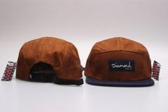 Кепка DIAMOND (Бейсболка Даймонд) коричневая 1