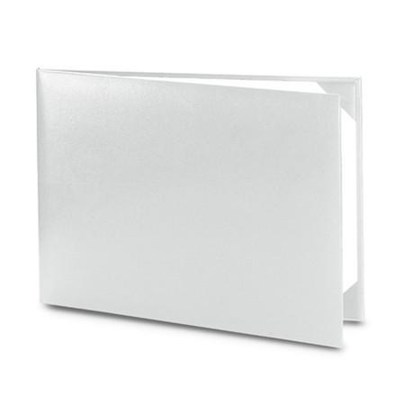 Обложка / корочка «Колор» для диплома или сертификата (серебристая)