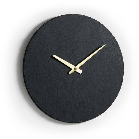 Настенные часы Walso камень 40 см