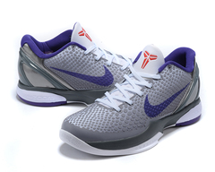 Nike Zoom Kobe 6 'Grey/Black/White/Blue'
