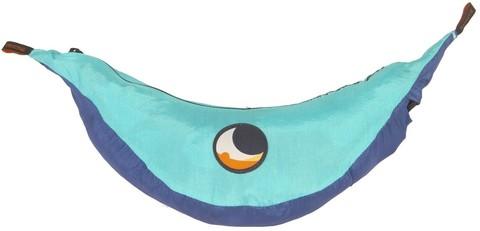 Картинка гамак туристический Ticket to the Moon king size hammock Royal Blue/Turquoise - 3