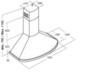 Вытяжка Kuppersberg BONA 60 W Bronze - схема