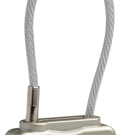 Картинка замок багажный Pacsafe Prosafe 800 серебряный - 3