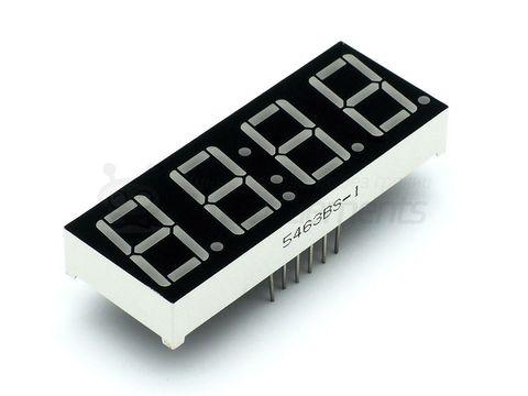 4-разрядный индикатор 0,56