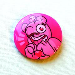 Значок Кэнди (розовый)