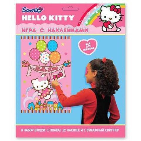 Игра с наклейками Hello Kitty
