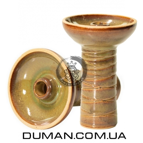 Чаша Gusto Bowls Classic Phunell Glaze II (Густо Болс Фаннел) Зеленый с коричневым
