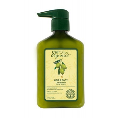 CHI Olive Organic: Кондиционер для волос и тела (Conditioner for Hair and Skin), 340мл