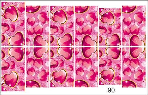 Слайдер наклейки Photonailart №90 купить за 80руб