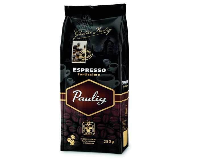Кофе молотый Paulig Fortissimo, 250 г