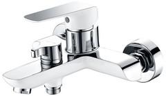 Смеситель KAISER Glory Chrome /White 69122 для ванны