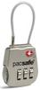 Картинка замок багажный Pacsafe Prosafe 800 серебряный - 1