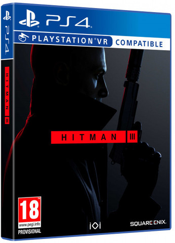 HITMAN 3 (поддержка PS VR) (PS4, русская документация)
