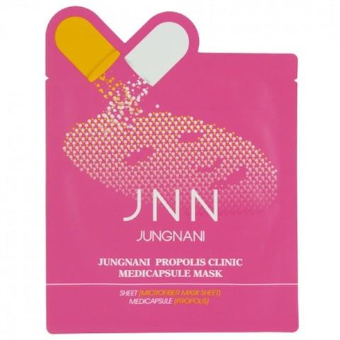 Маска тканевая с прополисом Propolis Clinic Medicapsule Mask JUNGNANI , 23 мл