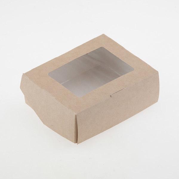 Коробка на одно мыло с окошком
