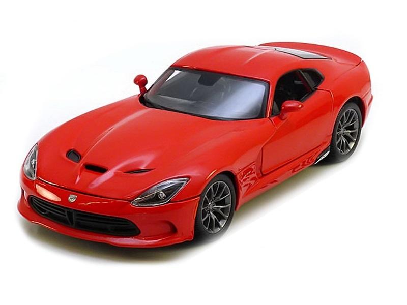 Коллекционная модель Dodge Viper SRT GTS 2013 Red