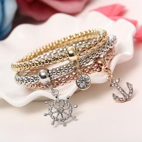 Купить Набор браслетов в морском стиле в Магазине тельняшек