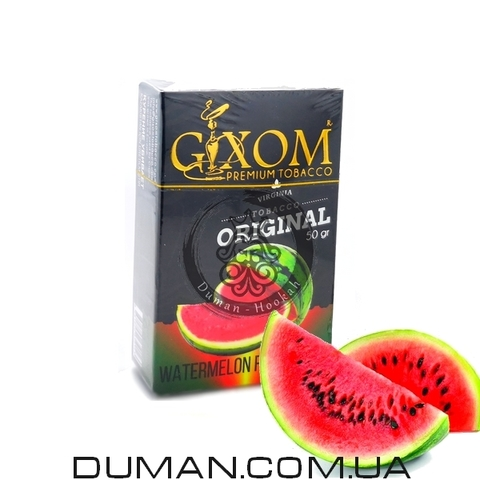 Табак Gixom Watermelon (Гиксом Арбуз)
