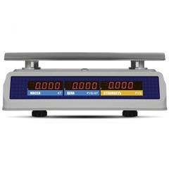 Весы торговые настольные Mertech M-ER 329AC-32.5, IP68, Fisher, 32кг, 5гр, 325х230, влагостойкие, с поверкой, без стойки
