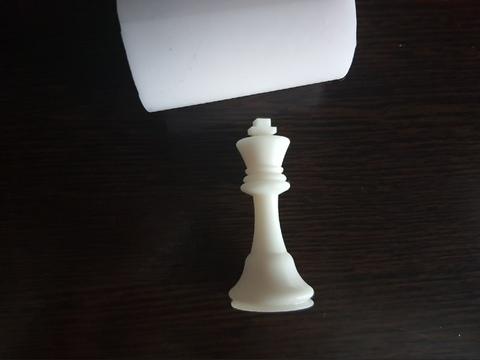 Силиконовый молд Шахматная фигура № 2    классика