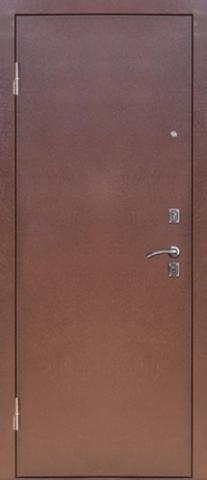 Дверь входная Сибирь S-4, 2 замка, 1,5 мм  металл, (медь+итальянский орех)