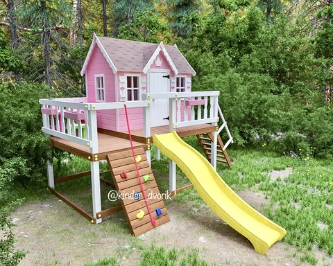 Детский деревянный домик на заказ