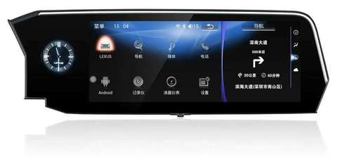 Мультимедийный монитор для Lexus ES (2018+) Android 10 4/64GB IPS 4G модель CB-4815APF