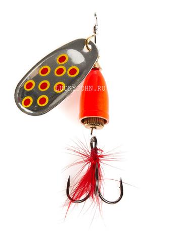Блесна вращающаяся Lucky John Bell Spin №1, 3.5 г, цвет SRD