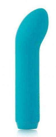 Голубой мини-вибратор G-Spot Bullet - 11,4 см.