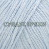 Пряжа Gazzal Baby Cotton XL 3429 бледно-голубой)