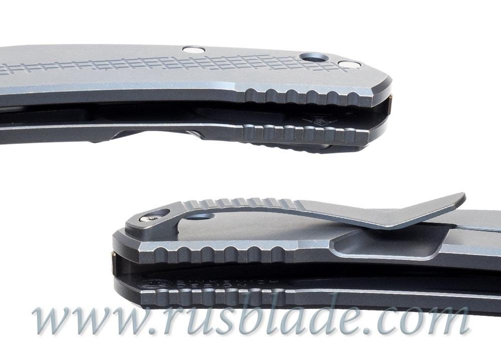 CUSTOM Shirogorov JEANS KNIFE Vanax 37 MRBS - фотография