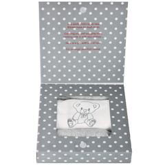 Подарочный набор для новорожденного в коробке Minene, серый