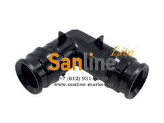 Штуцер 32x32мм Sanline Lite угловой 90гр (PPSU)